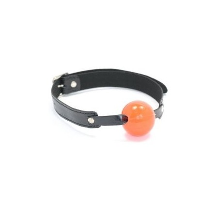 Red Solid Ball Gags