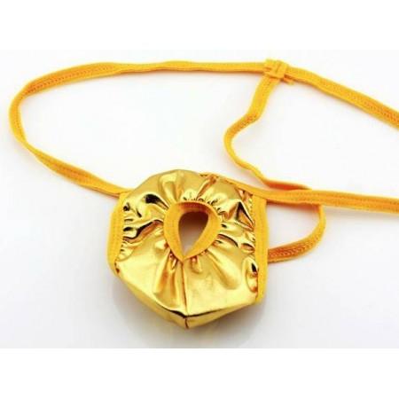String à Trou jaune-doré