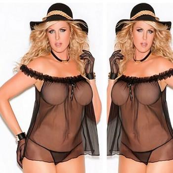 Nuisette Sexy Plus Size FALBA