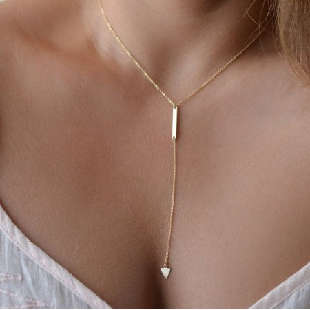 "Collier ""Triangle"""