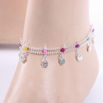 "Bracelet cheville ""Gaya"""