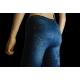 "Leggings jeans bleu ""Aïcha"""