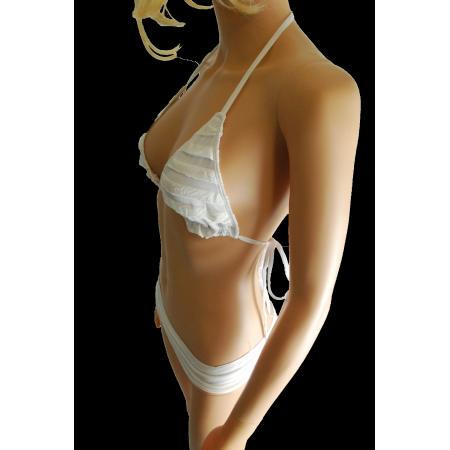 "Costume da bagno bianco ""Romanico"""