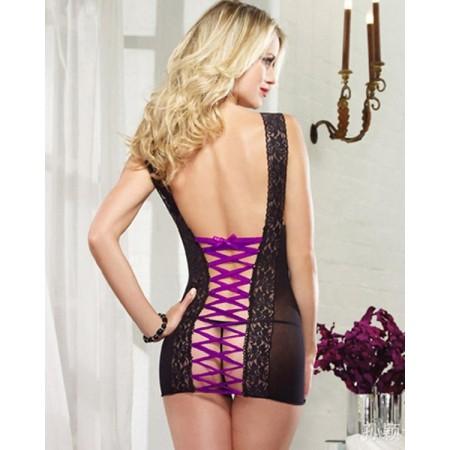 """Babydoll sexy corsetto nero"""""""