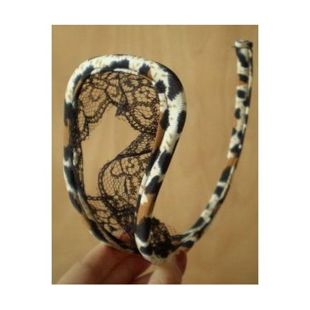 C String ouvert léopard