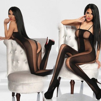 Combinaison à Bretelles Bodystocking MERCURIA