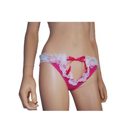 """Dessous sexy """" Mirabelle"""" rose"""