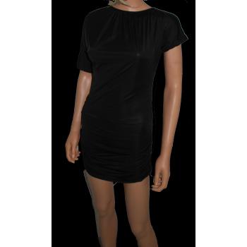 """Robe """"T-Shirt"""" noir"""