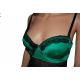 """Nuisette """"Olivia"""" noir & vert"""