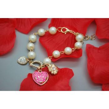 Bracelet Cœur Pinkette
