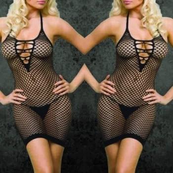 Splendida lingerie nera sexy !