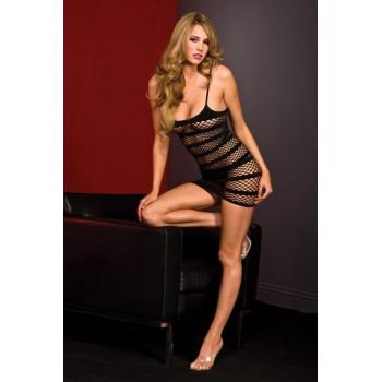 Mini robe résille Sexy IBIZA