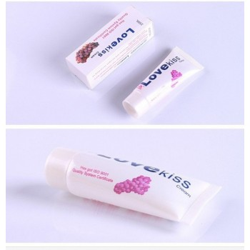 Lubrifiant saveur raisin LOVE KISS