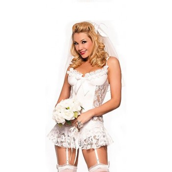 Costume de mariée sexy