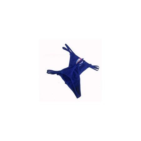 String Bleu petit noeuds