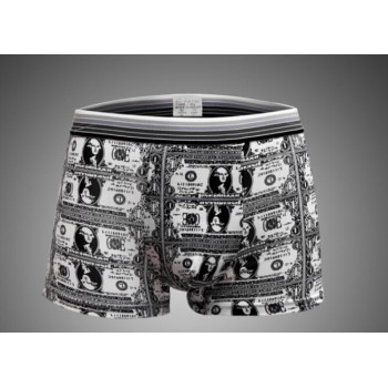 Boxer imprimé dollars