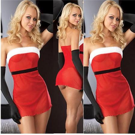 Kostüm Sexy Weihnachts-Plus Size PRILIA XL