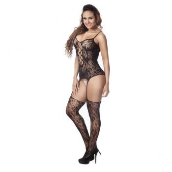 Bodystocking style lace