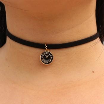 Halskette leder mit pendel