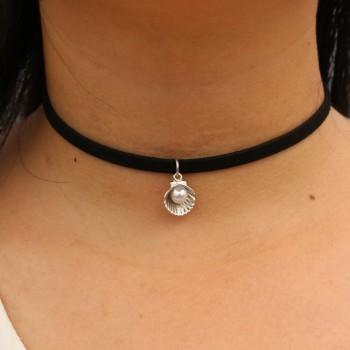 Ras-al-collo con perla