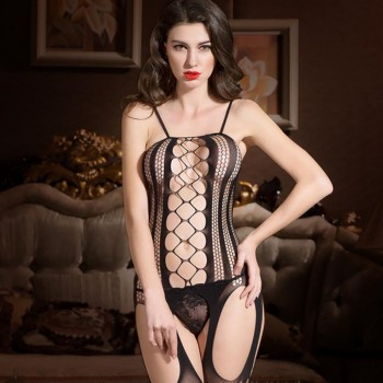 Collants Corps Entier Sexy Ouvert