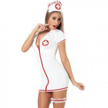 Costume Robe Nurse Sexy
