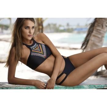 Bikini sexy mit bunten motiven