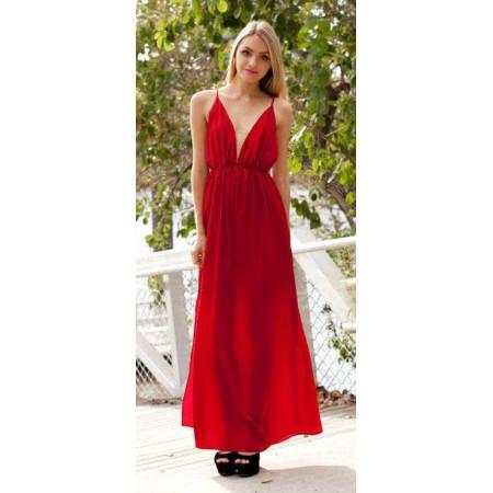 Robe rouge XXL
