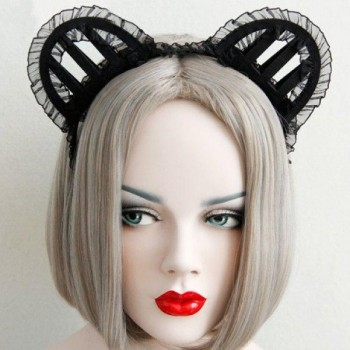 Headband with ears, lace