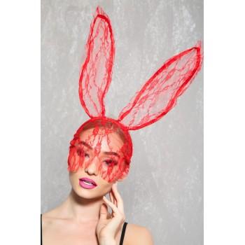 Orecchie da coniglio in pizzo glamour