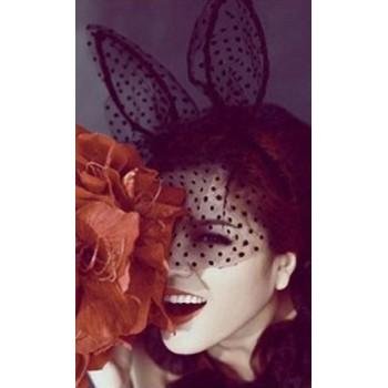 Piccole orecchie di un coniglio e rogue