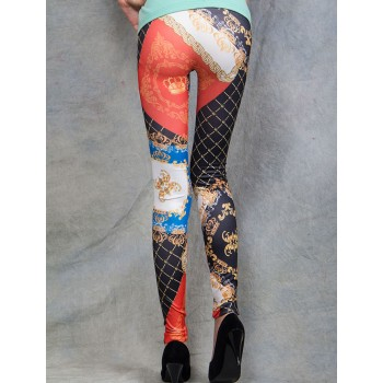 Leggings Sexy à Motifs