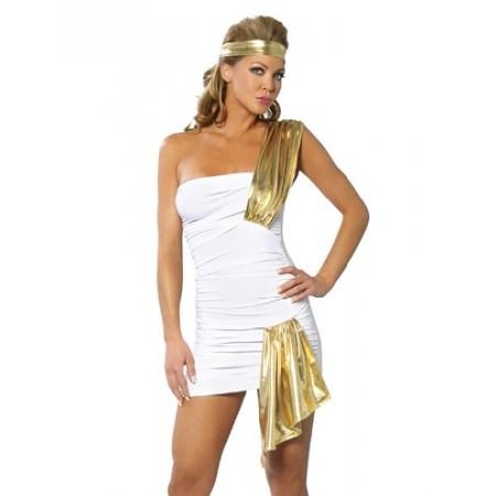 Splendide robe mille et une nuit blanche