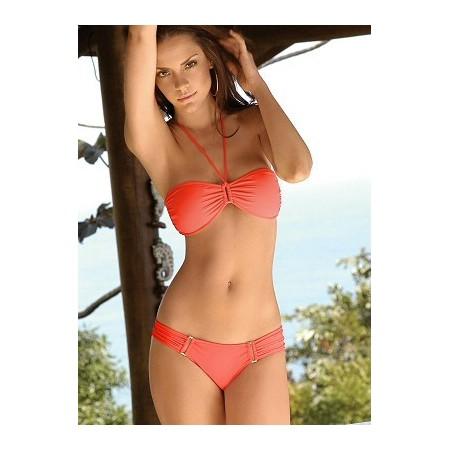 Splendide bikini sexy orange !