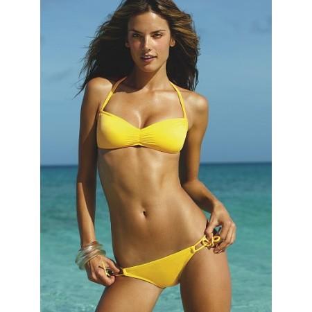 Splendide bikini sexy jaune !