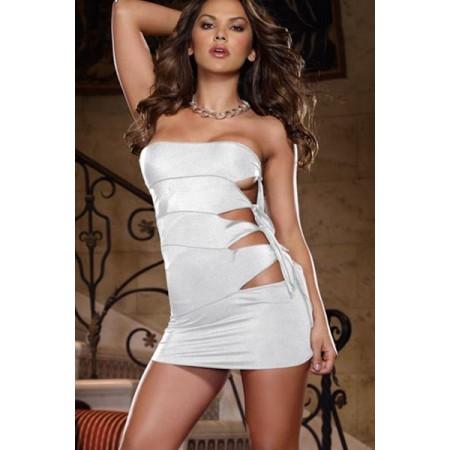Splendide robe de soirée sexy blanche !