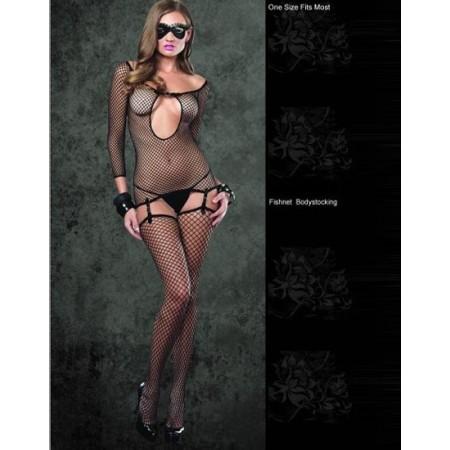 Superbe lingerie sexy noir transparent !