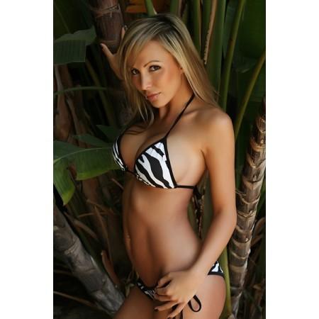 Wunderschöne bikini zebra-sexy !
