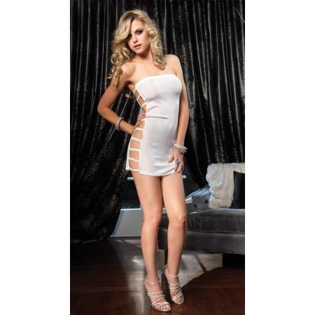 Mini robe blanche