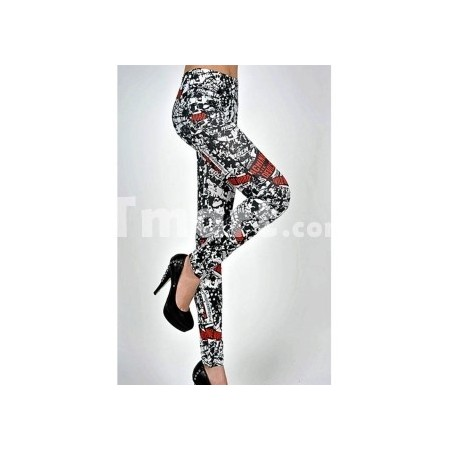 Leggings European Retro