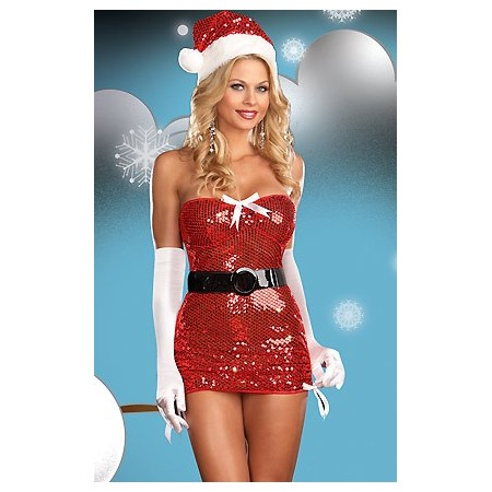 Kleid Sexy Mutter Weihnachten SEX & SNOW