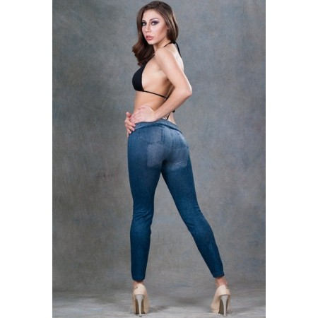 Leggings bleu jeans