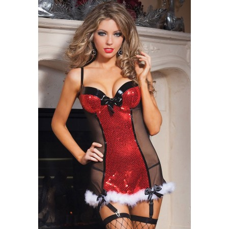 Engen Kleid Sexy Mutter Weihnachten