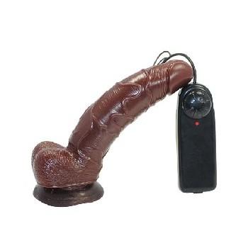 Realistic Black G-Spot Vibrator