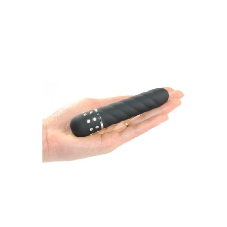 Black Vibrator with Jewelry