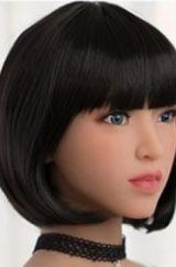 Black Square Smooth Fringe Right
